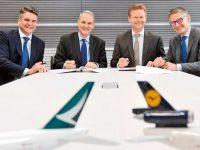 Lufthansa Cargo e Cathay juntas no Europa-HK