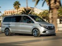 """MPV eléctrico da Mercedes """"rolou"""" em Barcelona"""
