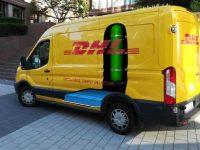 DHL desenvolve furgão a pilha de combustível
