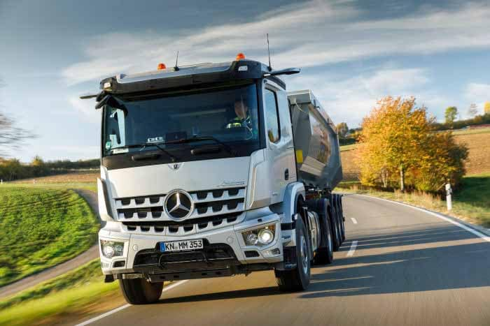 Mercedes autonomiza camiões em Portugal