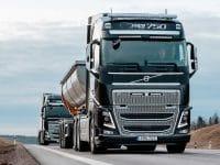 Volvo equipa camiões com alerta de distância