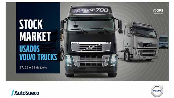 Auto Sueco vende camiões usados Volvo