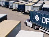 DFDS e Volvo testam camião autónomo