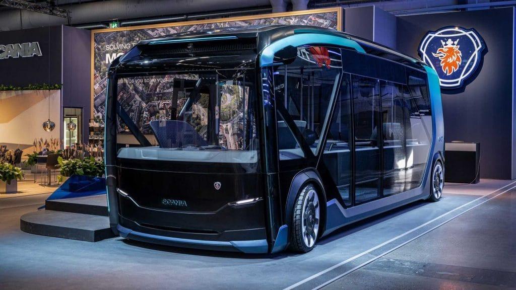 Scania apresenta veículo modular para passageiros e mercadorias