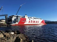 Armas Trasmediterránea aguarda super-ferry