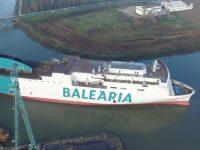 Baleària recebe quarto ferry a GNL