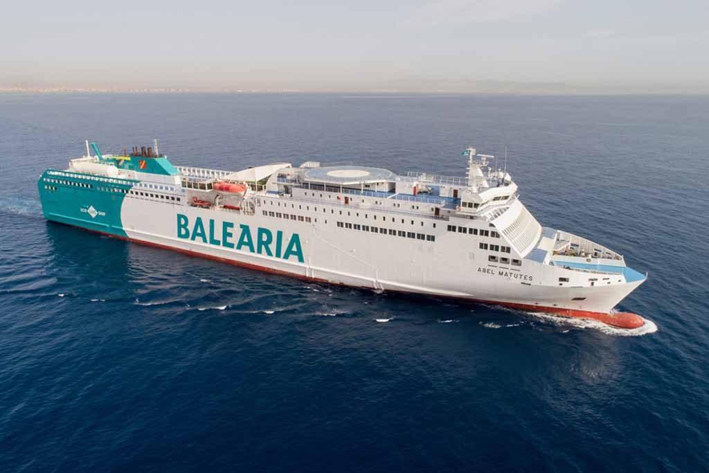 Baleària prevê ter nova navios a GNL em 2021