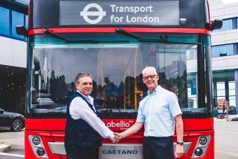 CaetanoBus fornece 34 e.City Gold a Londres