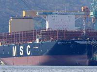 MSC ameaça liderança da Maersk