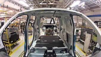 Produção de veículos comerciais baixou