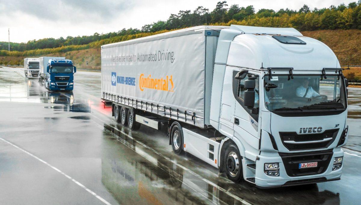 Testes de platooning juntaram camiões IVeco, MAN e  Volvo