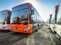 Mercedes entrega 93 autocarros híbridos a gás