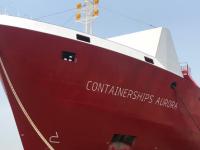 Containerships recebe mais um navio a GNL