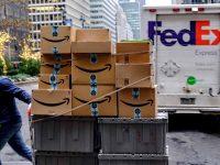 "Amazon ""levanta castigo"" à FedEx"