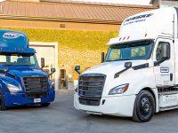 Freightliner eCascadia testado por clientes