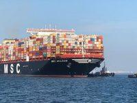 Navios duplicam de tamanho no Ásia-Europa