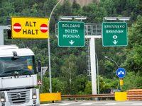 Áustria quer proibir camiões de saírem das AE