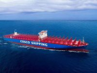 Cosco recebe último navio de 21 mil TEU