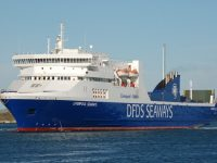 DFDS vende ro-pax Liverpool Seaways
