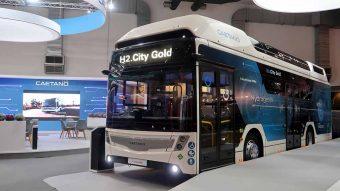 CaetanoBus mostrou City Gold a hidrogénio