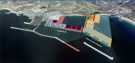 PSA SInes investirá 660 milhões no Terminal XXI