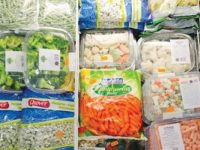 Exportações de alimentos congelados em alta