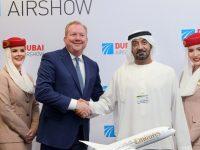 Emirates encomenda 30 B787-9 Dreamliner