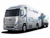 Camião Hyundai a hidrogénio premiado
