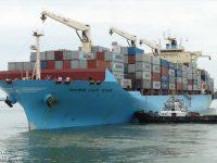 Maersk testa baterias em navio de 4500 TEU