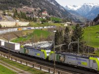 Suíça reforça apoios ao transporte combinado
