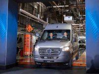 Mercedes iniciou produção da eSprinter