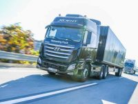 Hyundai testa platooning de camiões