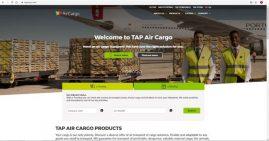 TAP Air Cargo tem um novo site