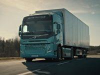 Volvo estuda novos camiões eléctricos