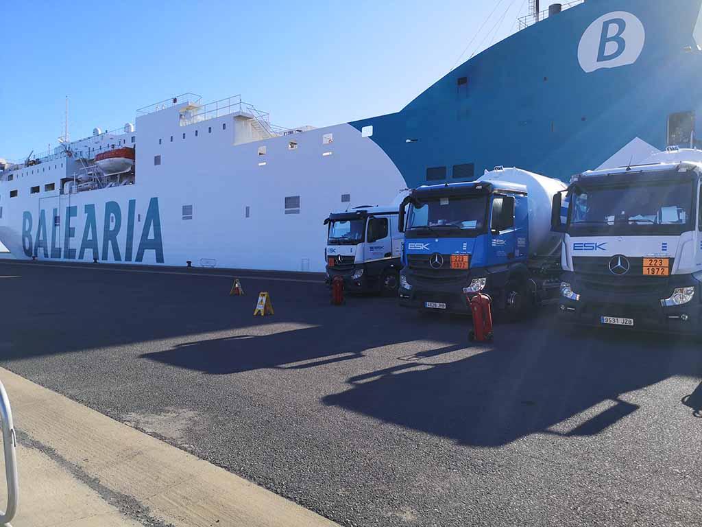 Baleària aumentou números da carga e passageiros