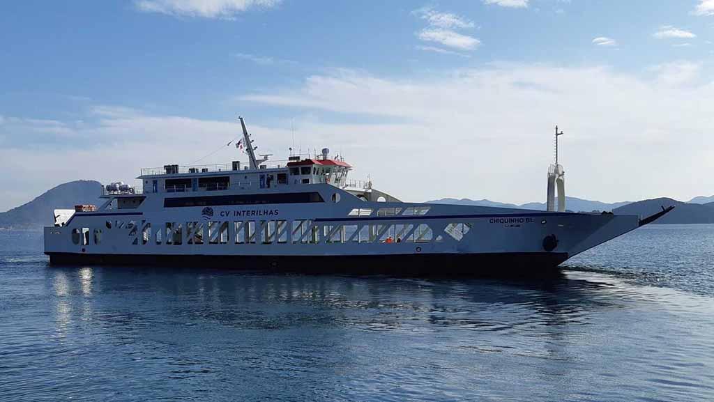 Novo navio da CV Interilhas foi construído na Coreia do Sul