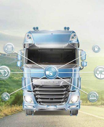 DAF aumenta gestão digital da frota