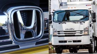 Isuzu e Honda juntas nos camiões a hidrogénio