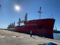 Aveiro recebe primeiro navio de 200 metros