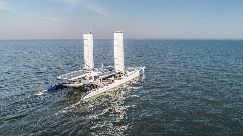 CMA CGM envolve-se no primeiro navio a hidrogénio