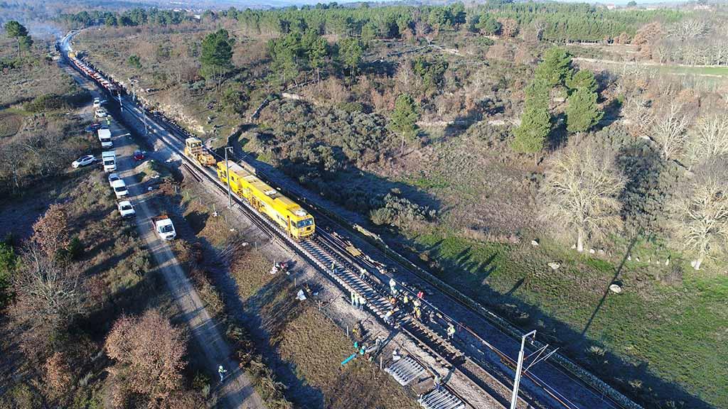 Mais 50 milhões para modernizar a Linha da Beira Alta
