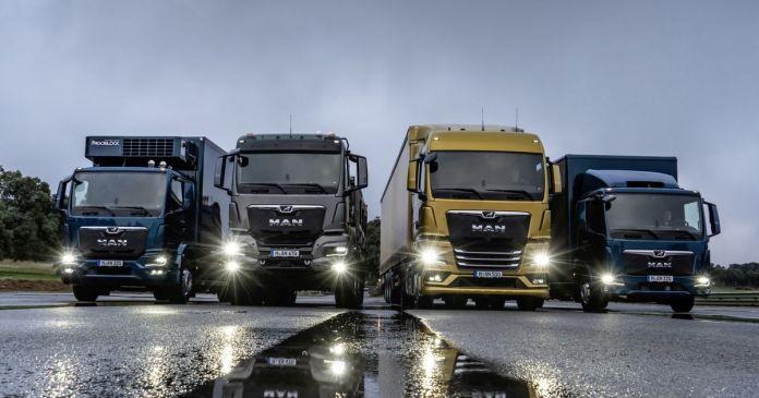MAN foi a marca de camiões mais vendida em Abril