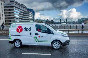 Nissan fornece 300 furgões eléctricos à DPD