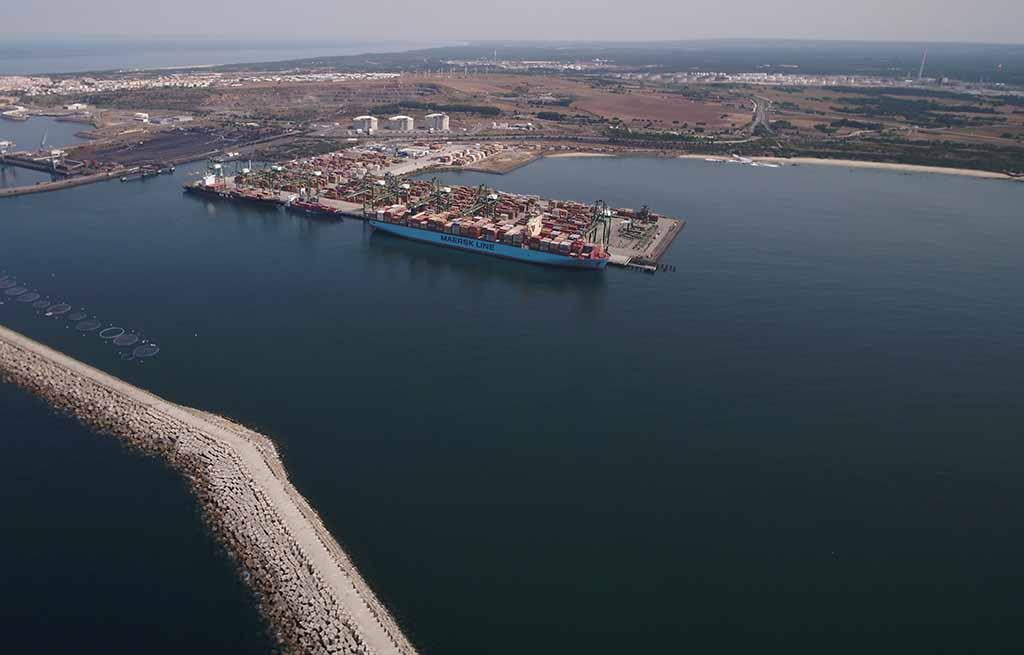 Sines perdeu 6,1 milhões de toneladas em 2019