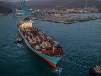 ME2 da Maersk estreia Vado Gateway