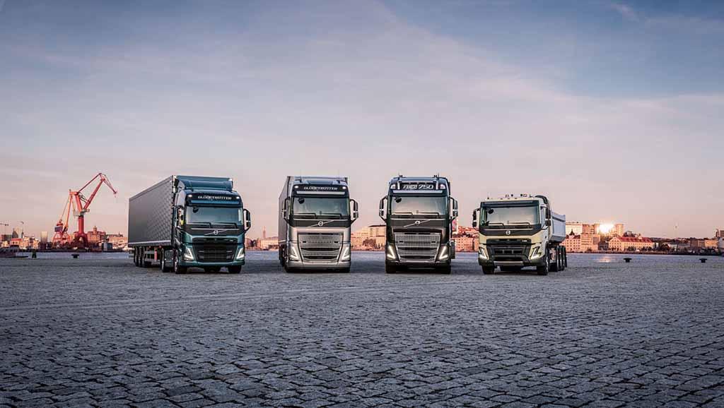 A Volvo lidera o mercado nacional de camiões