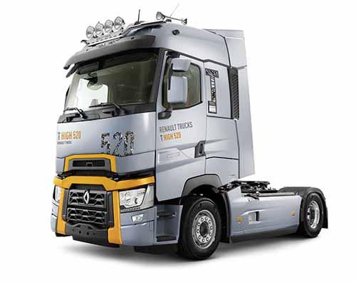 Renault Trucks promete maior economia de combustível