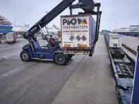 P&O Ferries duplica capacidade ferroviária