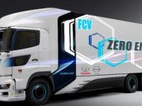 Toyota e Hino querem camião FCEV
