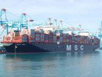 2M alinha navios +20 mil TEU no trans-Pacífico